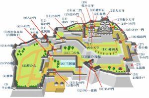姫路城見学ルート