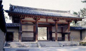 法隆寺 東大門